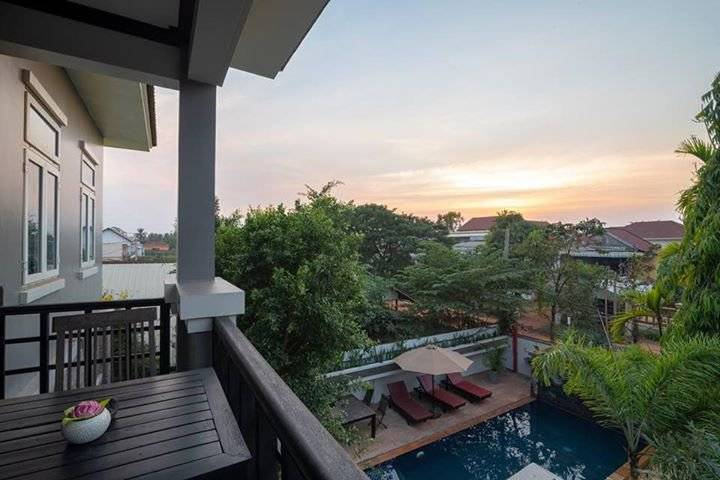 4 bedrooms villa for rent in siem reap ID: HFR-240
